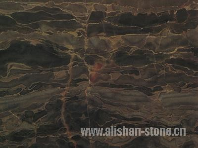 China Coffee color marble