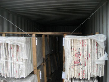 granite small slabs container loading